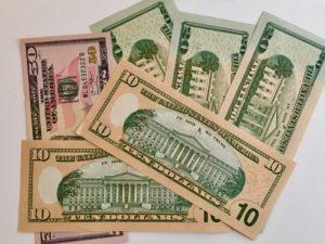 Hvor mange penge bruger man?