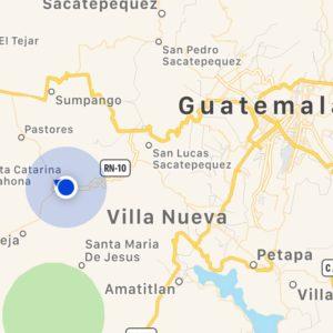 Turen fra El Tunco til Antigua