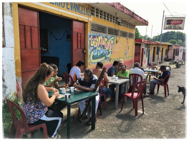 En torsdag morgen i Guazacapán
