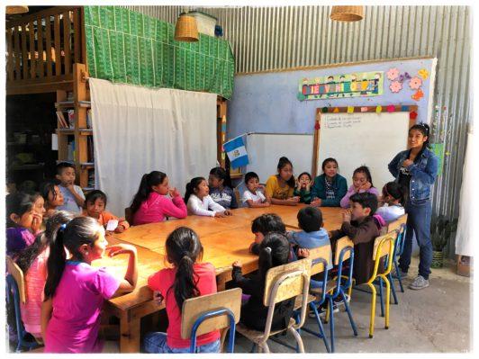 Den lokale skole i El Hato