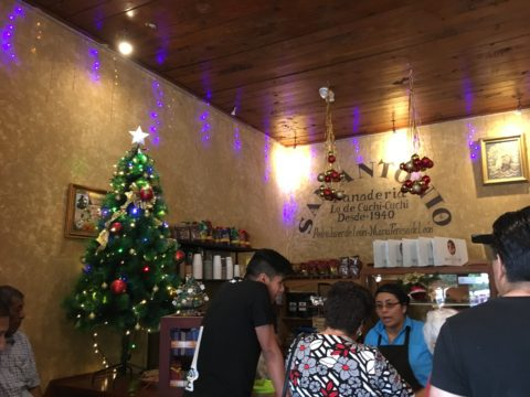 Julepynt i Antigua